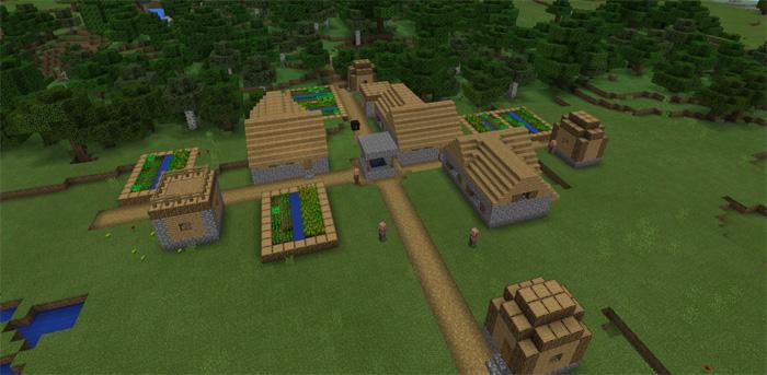 2360843 Super Flat Spawn Minecraft Pe Seeds
