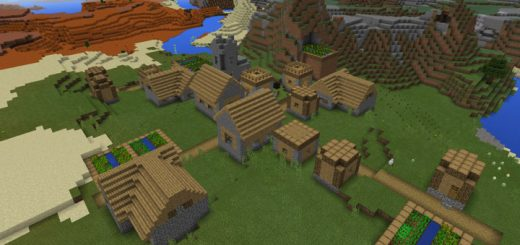 -1850349118: Mesa Biome & Villages