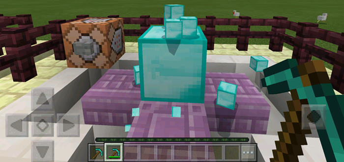 Command Block Creations Redstone Only Minecraft PE Maps - Minecraft commands fur maps
