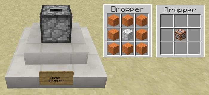 Command Block Custom Crafting