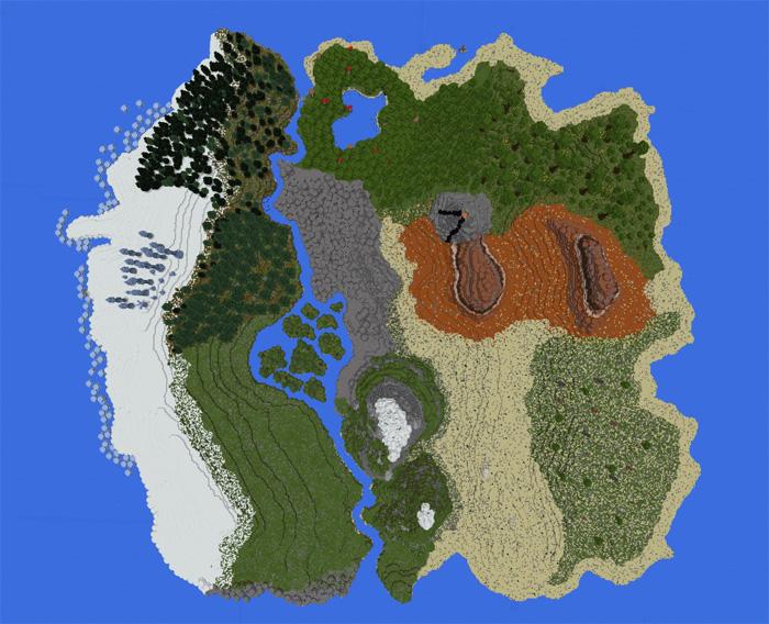 Ekzas terrain overhaul custom terrain minecraft pe maps download zip 28 mb sciox Images