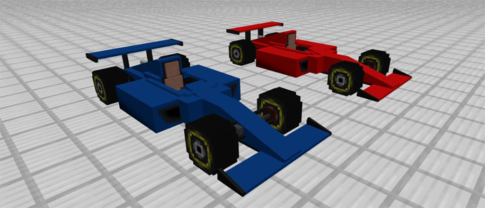 Sports Car Formula One Add On Minecraft Pe Mods Addons