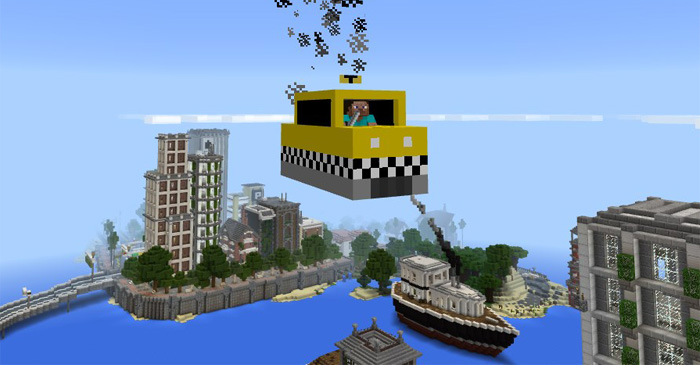 Of Heights Or Just Want An Ordinary Taxi Then There S A Normal One As Well It Replaces The Creeper Used Very Much Same Flying Car
