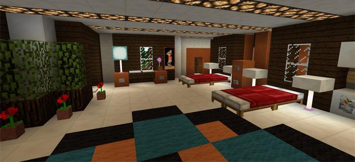 Minecraft Safest Redstone House Download Smart House – Fondos de