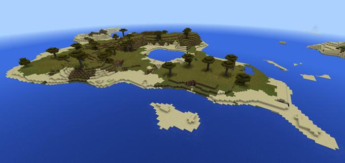 560637684 Savannah Island Minecraft Pe Seeds