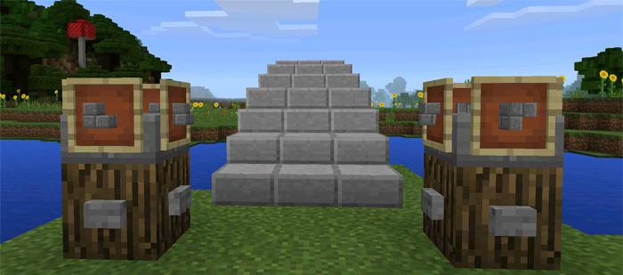 Self Building House Redstone 1 0 5 Only Minecraft Pe Maps