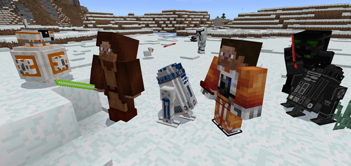 Star Wars Add-on | Minecraft PE Mods & Addons