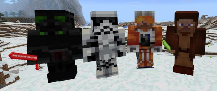 Star Wars Add On Minecraft Pe Mods Addons