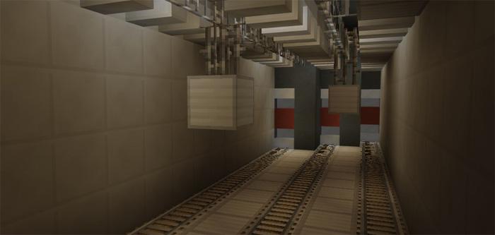 The Subterranean Facility [Adventure]   Minecraft PE Maps