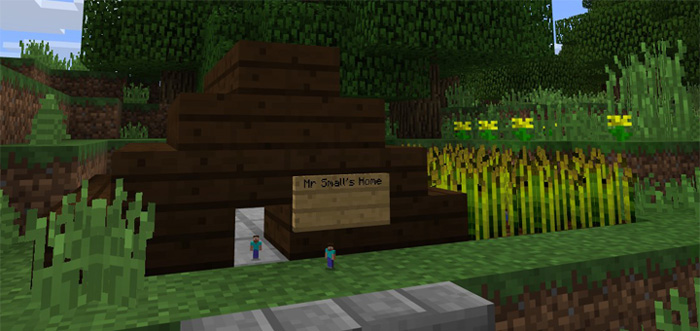 Tiny Player Addon Minecraft PE Mods Addons - Minecraft spieler skin download