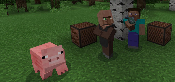 The Element Animation Villager Sounds Resource Pack