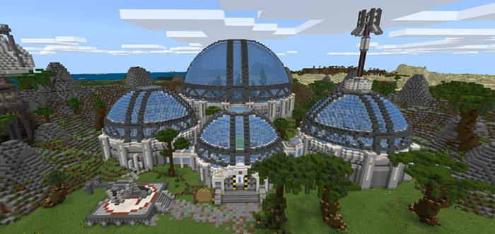 DanTDM's Lab (Infinite World) [Creation] | Minecraft PE Maps on