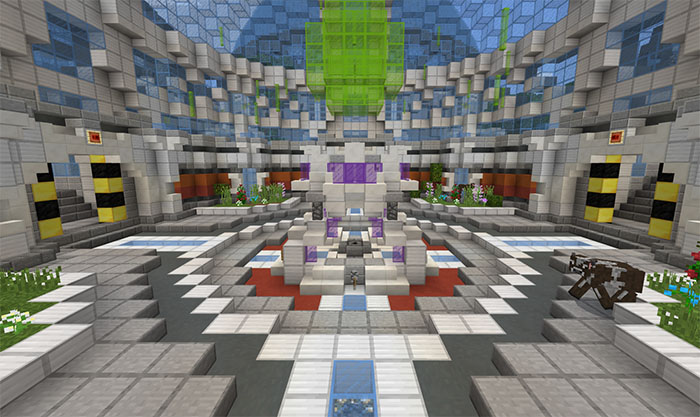 DanTDM's Lab (Infinite World) [Creation] | Minecraft PE Maps on