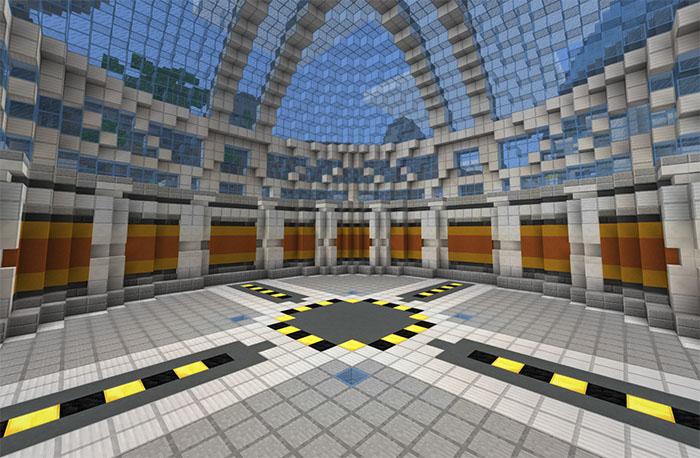 DanTDM's Lab (Infinite World) [Creation] | Minecraft PE Maps