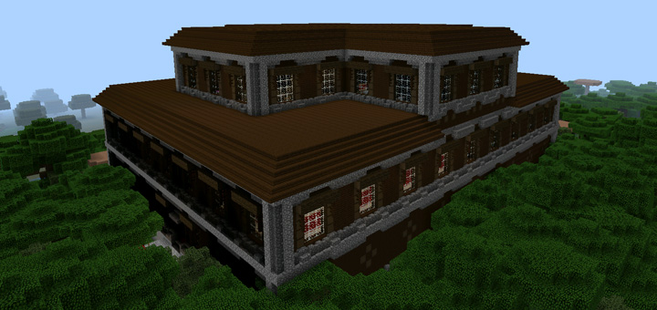 2072006993 Far Away Woodland Mansion Minecraft Pe Seeds