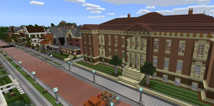 minecraft neighborhood map download
