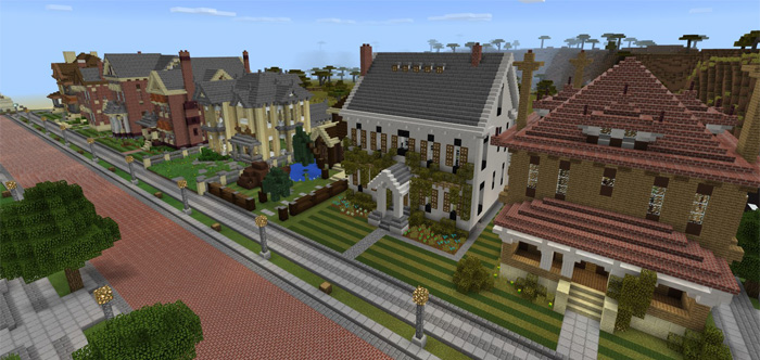 The Neighborhood [Creation] | Minecraft PE Maps
