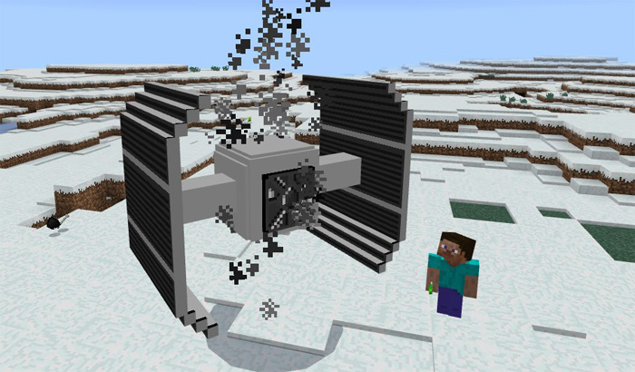 Star Warz Addon | Minecraft PE Mods & Addons