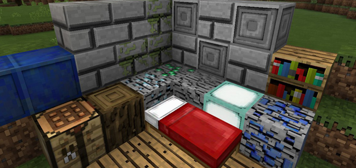 Starky's 3D Texture Pack [128×128] | Minecraft PE Texture Packs
