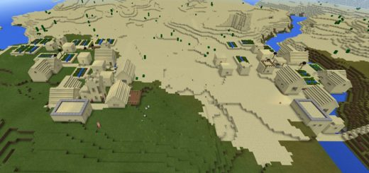 -962186478: Two Sand Villages At Spawn