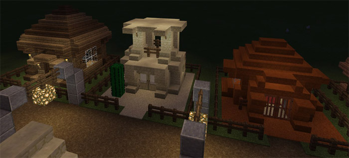 Simple Small House Designs Creation Minecraft Pe Maps