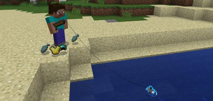 Better Fishin' Addon   Minecraft PE Mods & Addons