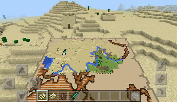 how to find a cartographer in minecraft pe