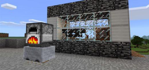 Electric Furnace (Command Block) [Redstone]