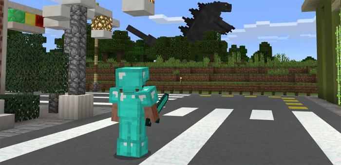 Godzilla Add On Minecraft Pe Mods Addons Page 3