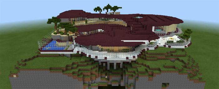 Murder Mystery Mansion Minigame Minecraft PE Maps - Maps fur minecraft runterladen