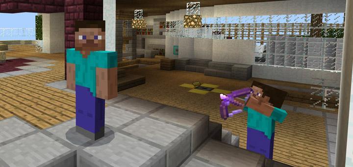Murder Mystery Mansion Minigame Minecraft PE Maps - Minecraft ender games kostenlos spielen