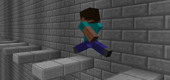 The Wall [Parkour]   Minecraft PE Maps