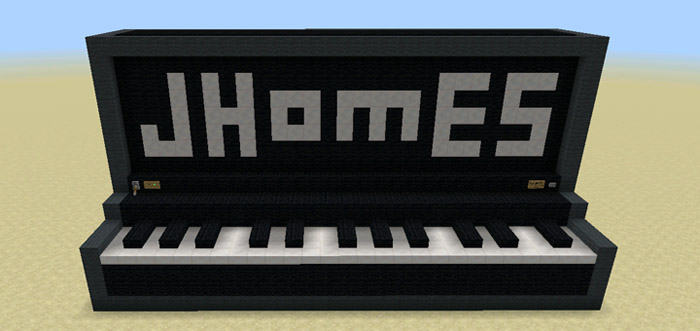 Working Giant Piano [Creation] (1 1 0 9 Only) | Minecraft PE