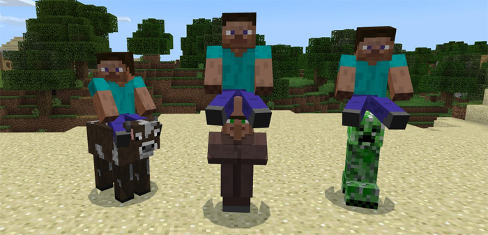 how to ride a horse in minecraft windows 10