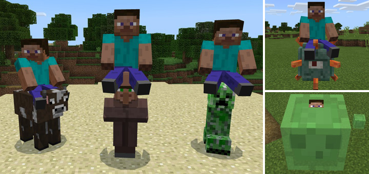 how to find mobs in minecraft pe