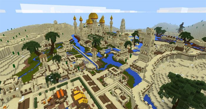 Minecraft Egypt Map.Arabian Desert City Creation Minecraft Pe Maps