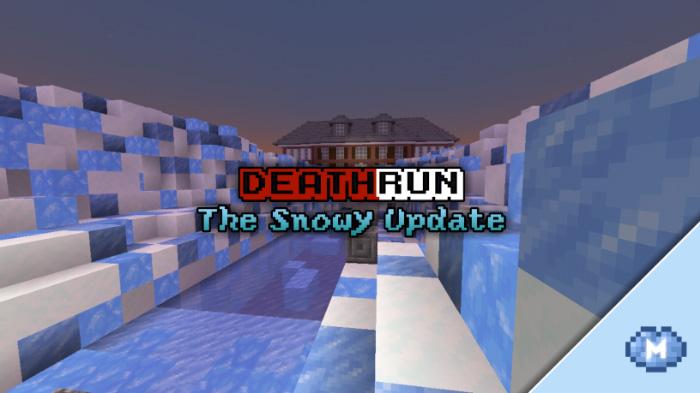 DeathRun: The Snowy Update Minigame Minecraft PE Maps