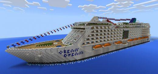 Ocean Dream Cruise Ship [Creation]