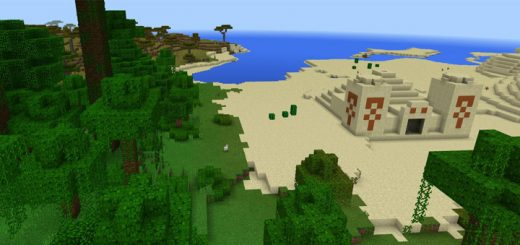 256393152: Desert Temple At Spawn
