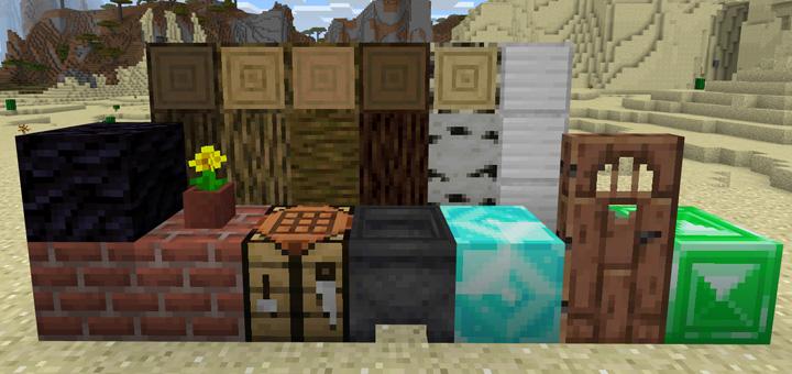 Minecraft 1.13 Textures (Concept) Pack | Minecraft PE Texture Packs