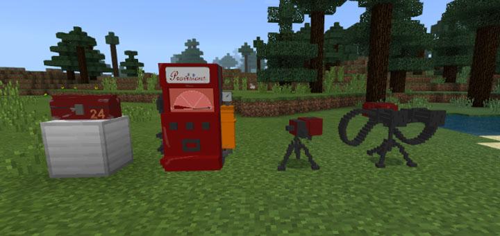 tf2 engineer addon minecraft pe mods addons