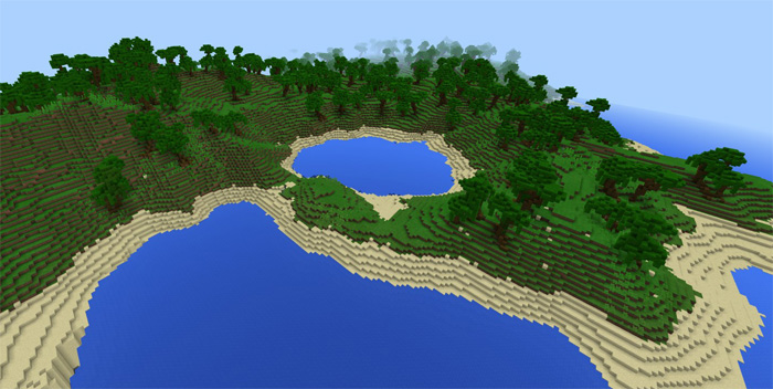 The lands of notch custom terrain minecraft pe maps world map gumiabroncs Choice Image