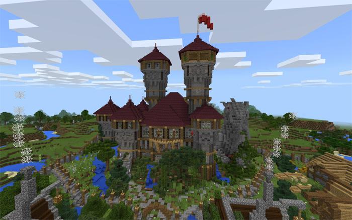 . TRG Village  Creation    Minecraft PE Maps