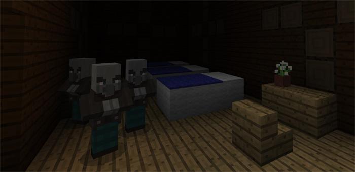 518068014 Woodland Mansion Next To Spawn Minecraft Pe