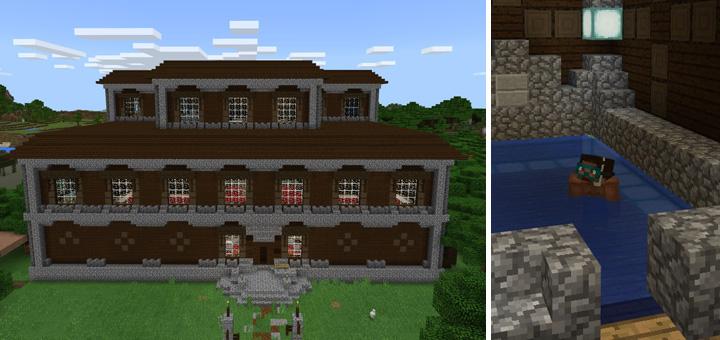 Redstone Woodland Mansion [Creation]