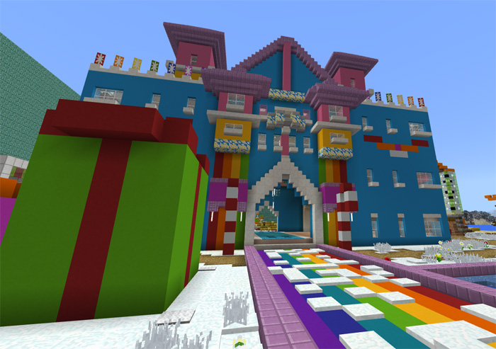 World Of Color Creation Minigame Minecraft Pe Maps