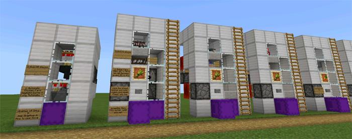 16 Useful Farms Redstone Minecraft Pe Maps
