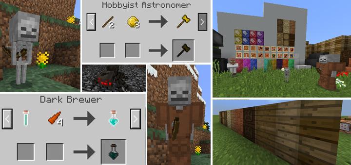 Astronomic Expansion Addon Minecraft PE Mods Addons - Skin para minecraft de yuno