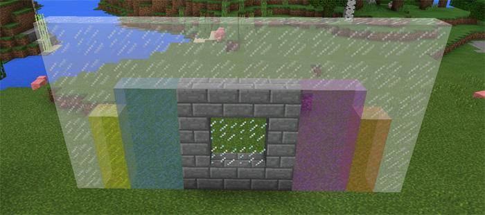 minecraft glass pane or block