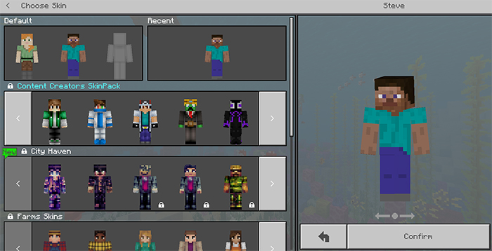 Content Creators Skin Pack | Minecraft Skin Packs